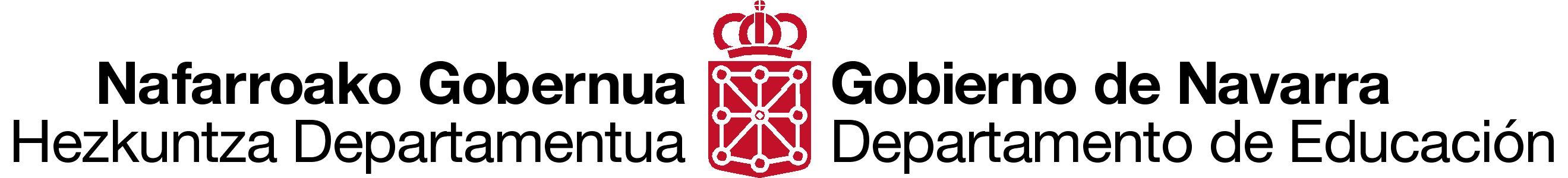 Resultado de imagen de educacion navarra logo